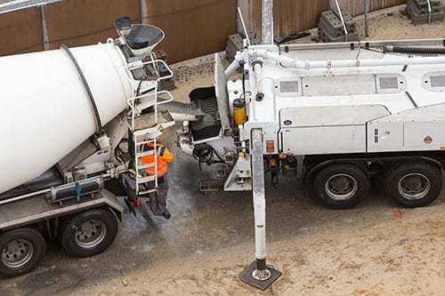concrete pump loan