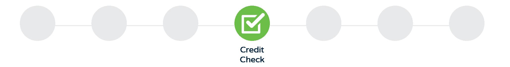Credit Check - Progress image